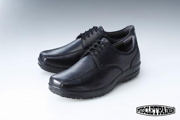 【送料無料】【ラッピング無料】マッスルトレーナービジネス ヒモタイプ ブラック MT900 【靴】【岸田モデル】【ビジネスシューズ】【父の日・クリスマス・男性用オフィスシューズ】