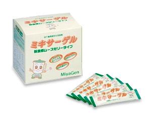 市販 新入荷 流行 簡単 ミキサーで混ぜるだけでムースゼリーが作れます ミキサーゲル スティック3g×50本入り 宮源 150-9411 介護食品