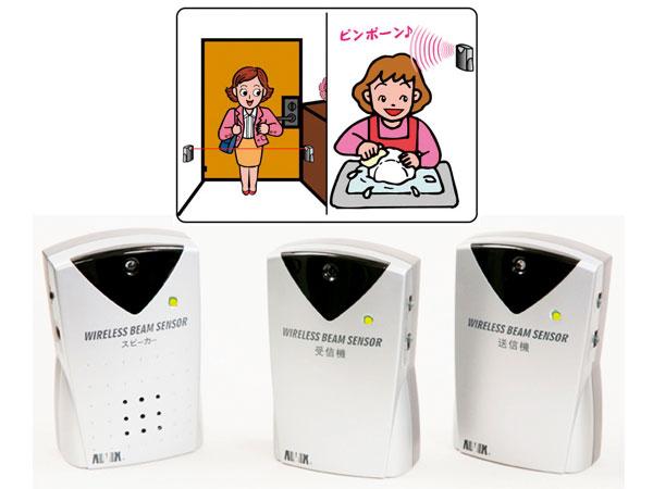 【送料無料】キヨタ ワイヤレスビーム式徘徊離床感知器 ADX-540HO