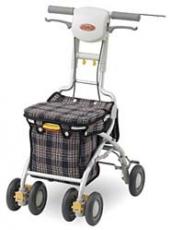 【送料無料】【シルバーカー】アロン化成サンフィールS(ショッピング)【介護・歩行・移乗用品・歩行器・サポート】