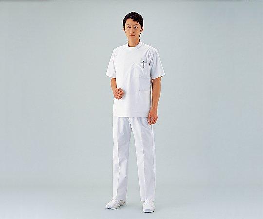 住商モンブラン 診察衣 (男性用/半袖上衣) M 8-7704-02
