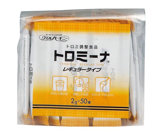 【送料無料】ウエルハーモニー トロミ-ナ (とろみ調整食品) レギュラ-タイプ (2g×50本入)×10袋入 0-7277-22
