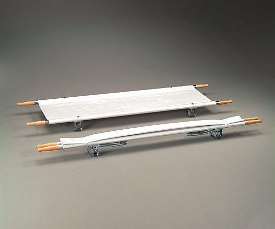 【送料無料】【直送の為、代引き不可】ナビス 担架 MT-1 二つ折り スチール 7.5kg 0-9542-01