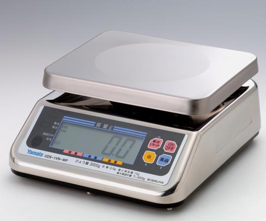 【送料無料】大和製衡 上皿自動はかり UDS-1V WP-6 検定付 1-8847-02