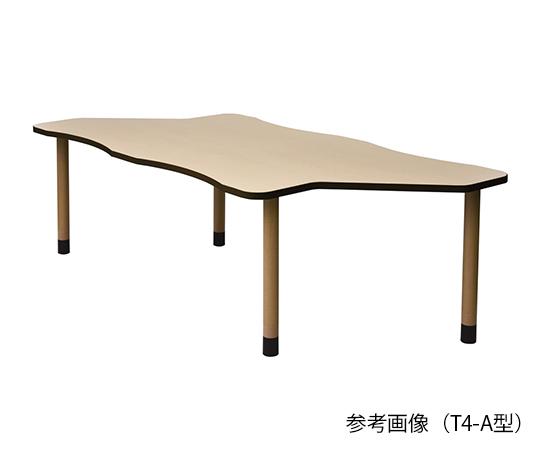 【送料無料】【直送の為、代引き不可】ナビス 食事用テーブル 継ぎ足タイプ T4-A型 7-3435-02
