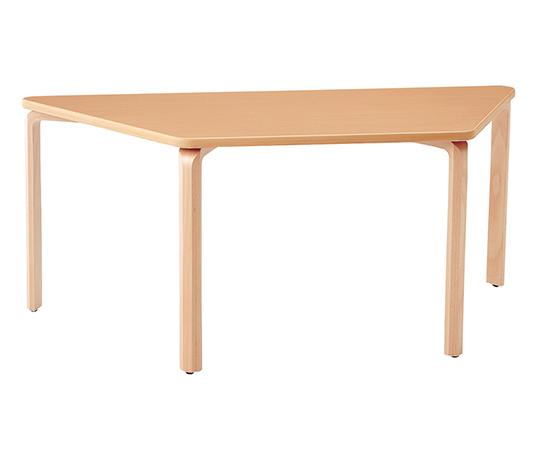 【送料無料】【直送の為、代引き不可】ナビス ダイニングテーブル 台形型 (1710×780×730mm) 7-3990-07