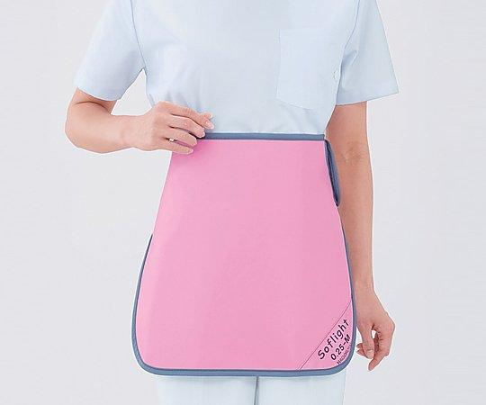 【送料無料】ナビス X線防護スカート SLSM35 Lピンク 8-2491-03