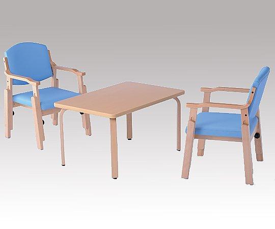 【送料無料】【直送の為、代引き不可】ナビス 椅子 (アジャスト) ブルー 8-4487-02
