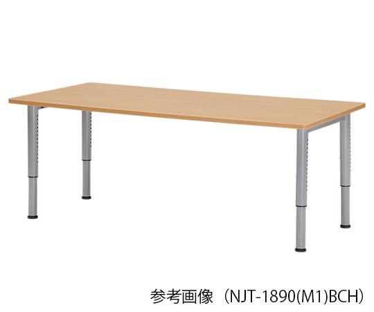 【送料無料】【直送の為、代引き不可】アイコ NJTテ-ブル(天板昇降タイプ) 750×750×680~765mm 8-6596-16