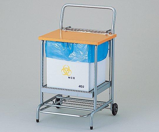 【送料無料】ナビス ダンボール用スタンド フタ付 NFD1 オレンジ 8-8850-03