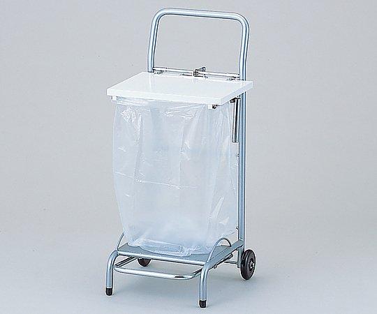 【送料無料】ナビス ゴミ袋スタンド(フタ付) NFG-1 ホワイト ※ゴミ袋別売 8-8851-02