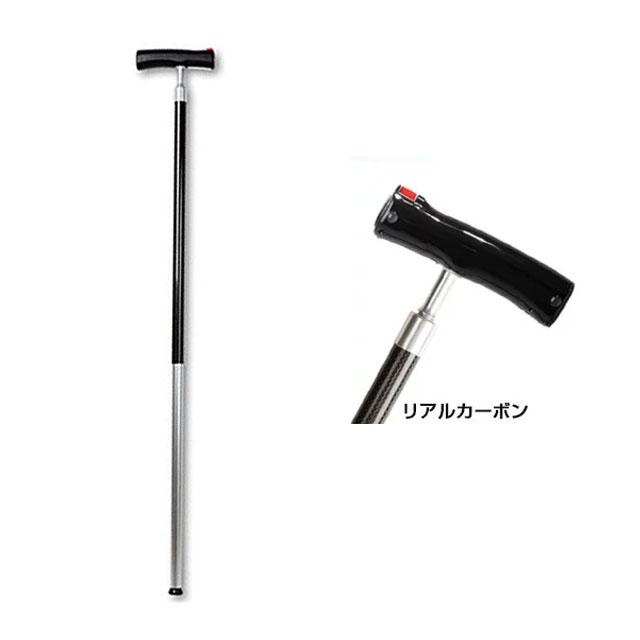 【送料無料】電動伸縮杖「伸助さん」リアルカーボン SN6100RC【電動・簡単・杖・伸縮型ステッキ・伸縮杖・T字型杖】