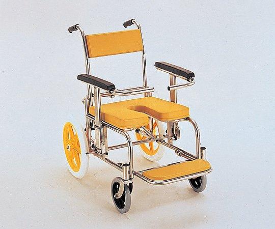 【送料無料】【直送の為、代引き不可】カワムラサイクル 入浴椅子 イエロー 0-6663-02
