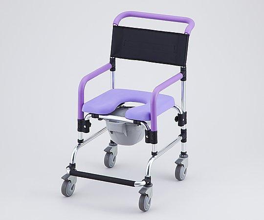 【送料無料】【直送の為、代引き不可】ナビス コンフォートシャワー椅子  8-4166-01