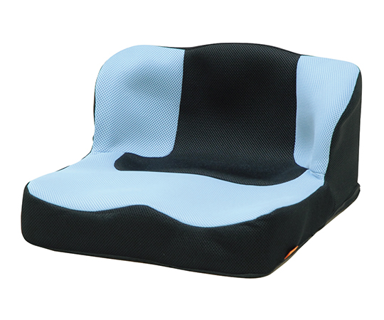 【送料無料】タカノ ラップス+ラップバックスセット(車椅子クッション) TC-LS11 ライトブルー 7-1444-02