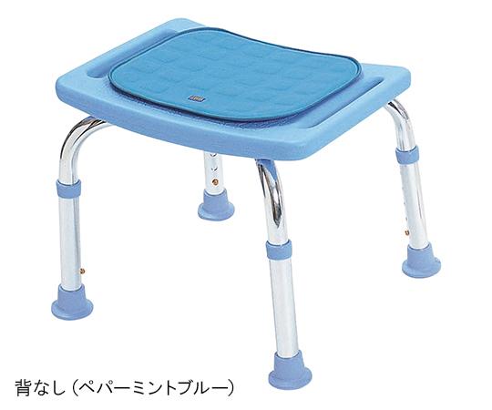 テツコーポレーション シャワーチェア ソフトクッションミニ 背なし ペパーミントブルー 7-1523-03