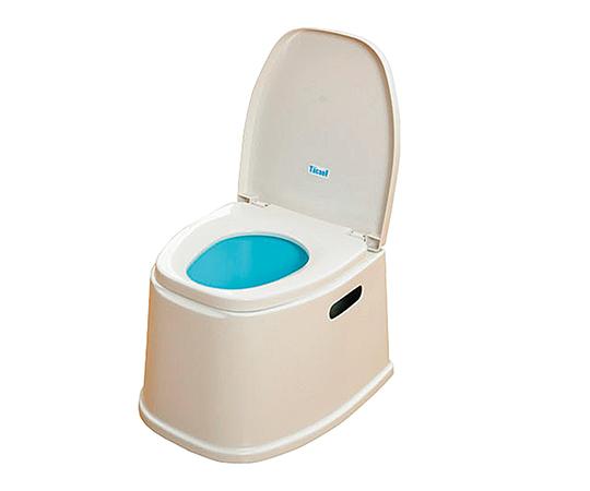【直送の為、代引き不可】幸和製作所 ポータブルトイレ 7-2652-01