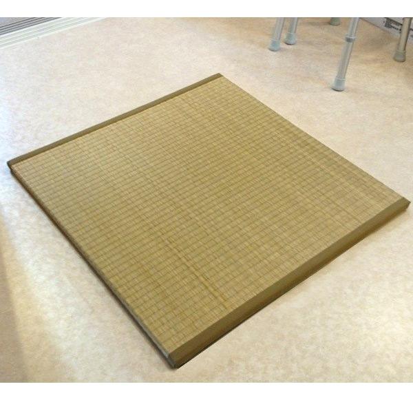 イケヒコ 脱衣畳 2-3 約82×82×2.5cm 純国産い草使用【い草・風呂・リフレッシュ・畳・国産】