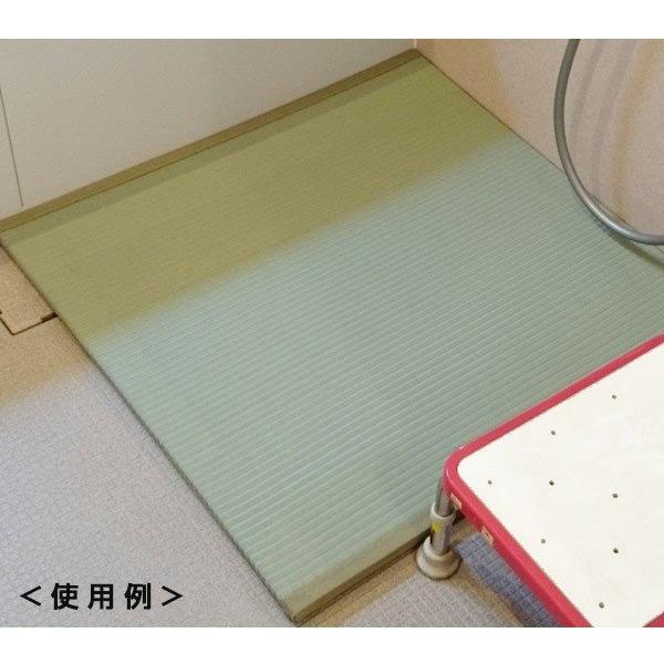 イケヒコ 浴室畳 2-4 約82×82×2.5cm 純国産い草使用【い草・浴室・風呂・畳・国産】