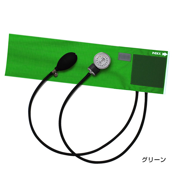 FOCAL フォーカルコーポレーション アネロイド血圧計 FC-100V ラテックスフリー仕様 イージーリリースバルブ カラーナイロンカフ【健康管理・血圧測定・アネロイド血圧計・ラテックスフリー・エクストラロングチューブ】