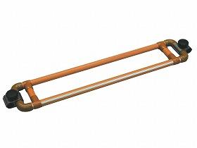たちあっぷ つながるくん(120cm) CKA-E120 矢崎化工【たちあっぷ連結パーツ・置くだけ簡単設置・据置手すり・据え置き手すり・取り付け簡単手すり・高齢者用手すり・立ち上がり手すり】