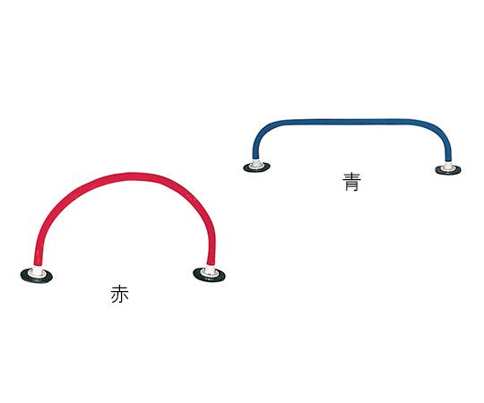 【送料無料】トッケン  ソフトハードル同色2本セット 青 2本入 7-1651-01【リハビリ・トレーニング・発泡チューブ・歩行訓練】