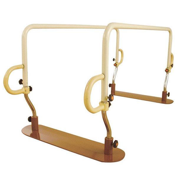 【送料無料】【直送の為、代引き不可】アルコー 簡易平行棒[アルコーアクティー] 100480 8-2613-01【リハビリ・トレーニング・起立・歩行訓練・立位保持・高さ・角度・調節】