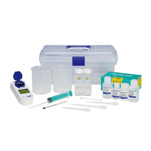 【送料無料】油分測定試薬セット WA-OIL-S2(33490121) 共立理化学研究所【環境計測関連商品・水質検査関連商品・水質調査関連商品】
