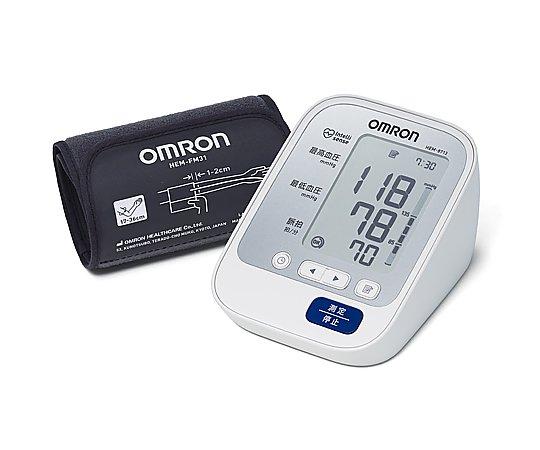 オムロン デジタル自動血圧計 HEM-8713 8-4389-11【看護・医療・介護・診察用品・測定・診断・血圧計・オムロン血圧計・オムロン 自動血圧計・HEM-8713】