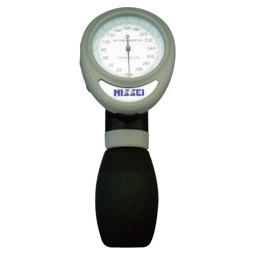 【送料無料】アネロイド血圧計(ワンハンド型) 23-5468-00 グレー【医療・介護用品・医療・救急・衛生用品・血圧計】