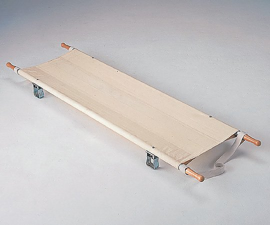 【送料無料】【直送の為、代引き不可】松永製作所 二ツ折担架 スチール製 540×2040mm 7.2kg 0-5131-01【防災用品・担架・二ツ折担架】