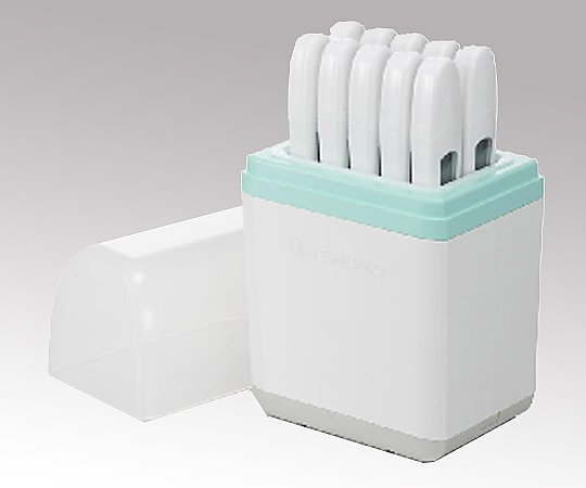 【送料無料】ナビス 電子体温計[病院用] ET-C205H(10本入) 腋下 収納ケース付き 8-9483-12【病院用体温計セット販売】