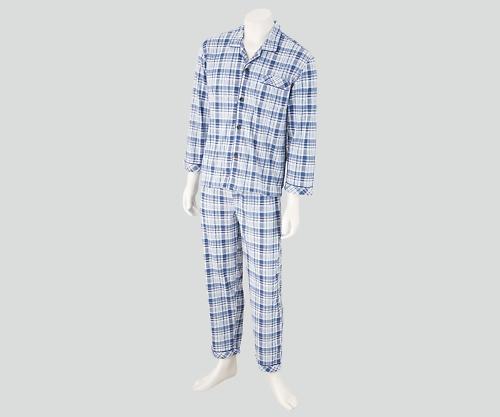 【送料無料】ナビス 入院セット 男性用パジャマ LL 8-9064-04【院内用パジャマ・入院用パジャマ・男性用パジャマ】