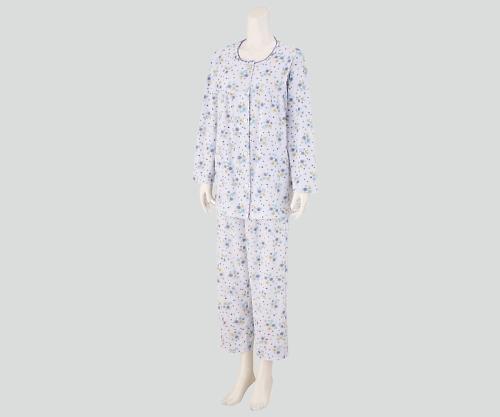 【送料無料】ナビス 入院セット 女性用パジャマ LL 8-9103-04【院内用パジャマ・入院用パジャマ・女性用パジャマ】