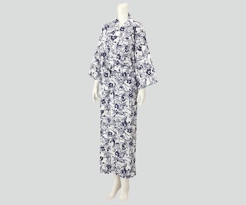 【送料無料】ナビス 入院セット 女性用ガーゼねまき L 8-9063-03【院内用パジャマ・入院用パジャマ・女性用パジャマ】