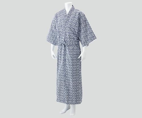 【送料無料】ナビス 入院セット 男性用ガーゼねまき L 8-9061-03【院内用パジャマ・入院用パジャマ・男性用パジャマ】