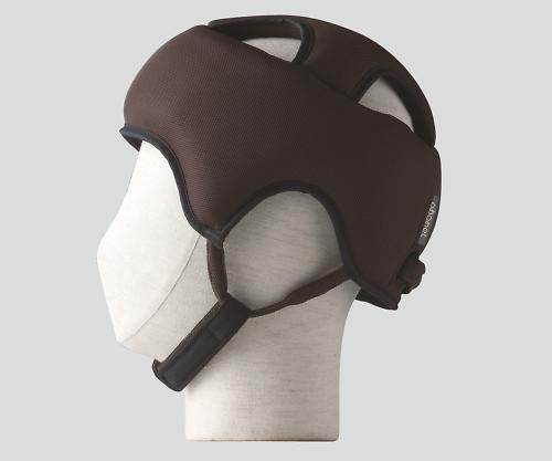【送料無料】特殊衣料 保護帽(アボネットガードA メッシュ) L ブラウン 8-6558-03【衝撃吸収・通気性・弾力性・介護・医療・看護用機器】