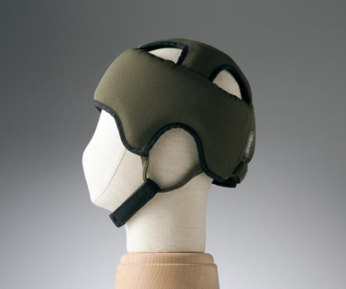 【送料無料】特殊衣料 保護帽(アボネットガードA メッシュ) L ブルー 8-6558-01【衝撃吸収・通気性・弾力性・介護・医療・看護用機器】