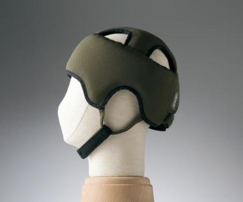 【送料無料】特殊衣料 保護帽(アボネットガードA) L ブラウン 8-6508-03【衝撃吸収・通気性・弾力性・介護・医療・看護用機器】