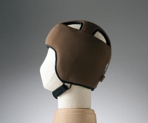 【送料無料】特殊衣料 保護帽(アボネットガードB) M ブラウン 8-6509-03【衝撃吸収・通気性・弾力性・介護・医療・看護用機器】