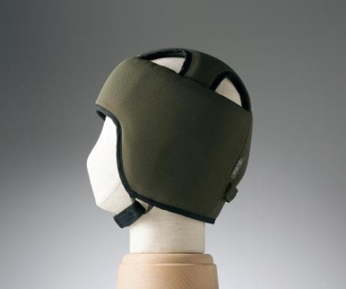 【送料無料】特殊衣料 保護帽(アボネットガードB) M オリーブ 8-6509-01【衝撃吸収・通気性・弾力性・介護・医療・看護用機器】