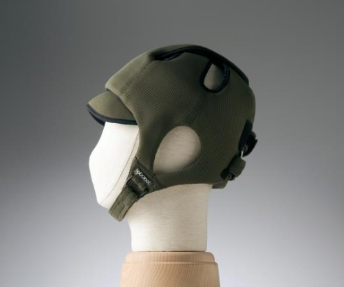 【送料無料】特殊衣料 保護帽(アボネットガードC) 幼児サイズ ブラウン 8-6512-03【衝撃吸収・通気性・弾力性・介護・医療・看護用機器】
