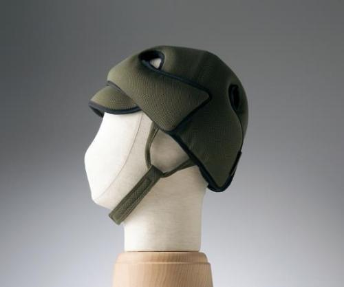 【送料無料】特殊衣料 保護帽(アボネットガードD) 幼児サイズ オリーブ 8-6514-01【衝撃吸収・通気性・弾力性・介護・医療・看護用機器】