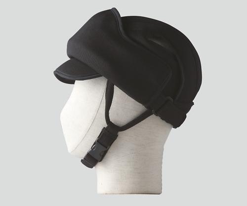 【送料無料】特殊衣料 保護帽(アボネットガードE) M?L ブラック 8-6559-04【衝撃吸収・通気性・弾力性・介護・医療・看護用機器】