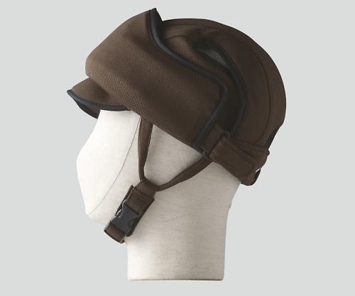 【送料無料】特殊衣料 保護帽(アボネットガードE) M?L ブラウン 8-6559-03【衝撃吸収・通気性・弾力性・介護・医療・看護用機器】