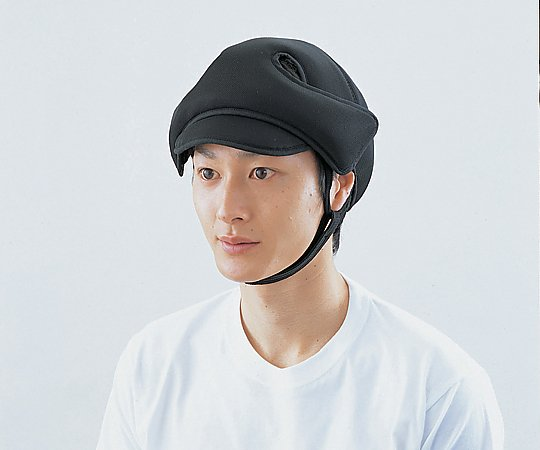 【送料無料】ナビス 保護帽[アボネットガードメッシュD] 幼児サイズ 2035・ブラック 8-9349-01【衝撃吸収・通気性・弾力性・医療・看護用機器】