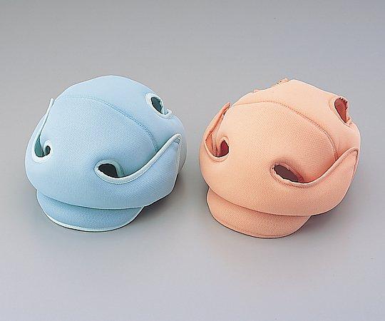 【送料無料】ナビス 保護帽[アボネットガードメッシュD] 普通サイズ 2033・ブルー 8-9348-02【衝撃吸収・通気性・弾力性・医療・看護用機器】