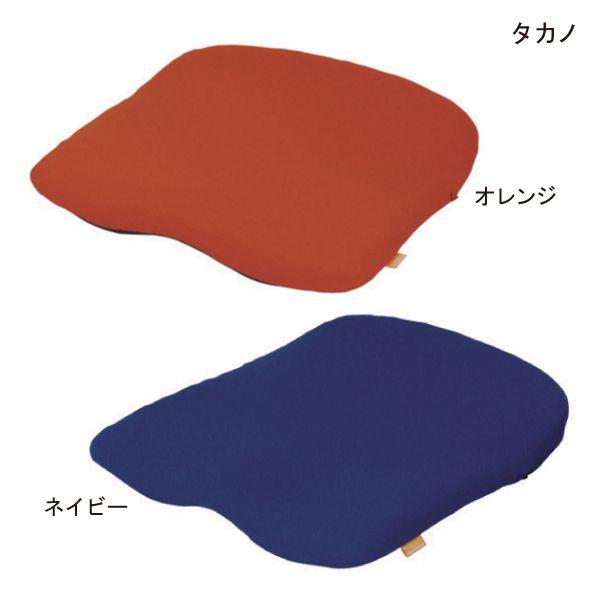 【送料無料】(タカノ)にこにこ Fit(オレンジ/ネイビー)(43cm×40cm、厚さ3.4cm)【ポイント10倍セール実施中!】10P03Dec16