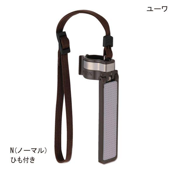 杖にはめ込み式の簡単装着! (ユーワ)転ばぬ杖N(ノーマル)ひも付きタイプ(M:φ15~20mm/L:φ21~25mm)
