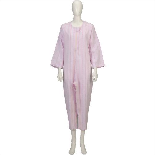 软件关怀睡衣两差别拉链薄粉红L